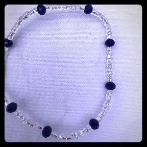 Ankle bracelet hand crafted in Ghana